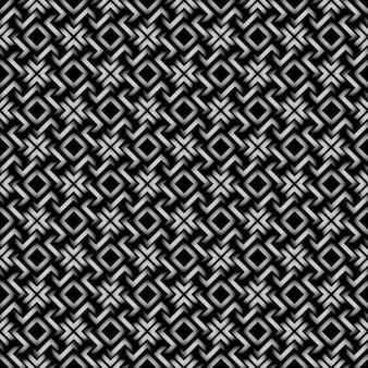 Keltische art - geometrisches nahtloses muster 3d