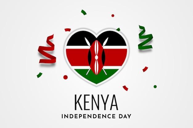 Kenia unabhängigkeitstag design