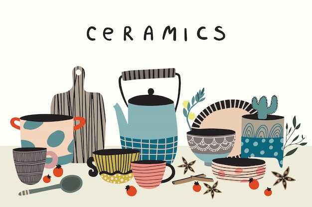 Keramik und keramik