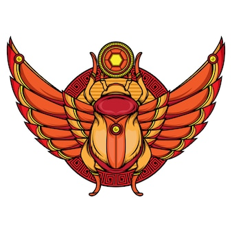 Khepri flash tattoo designs