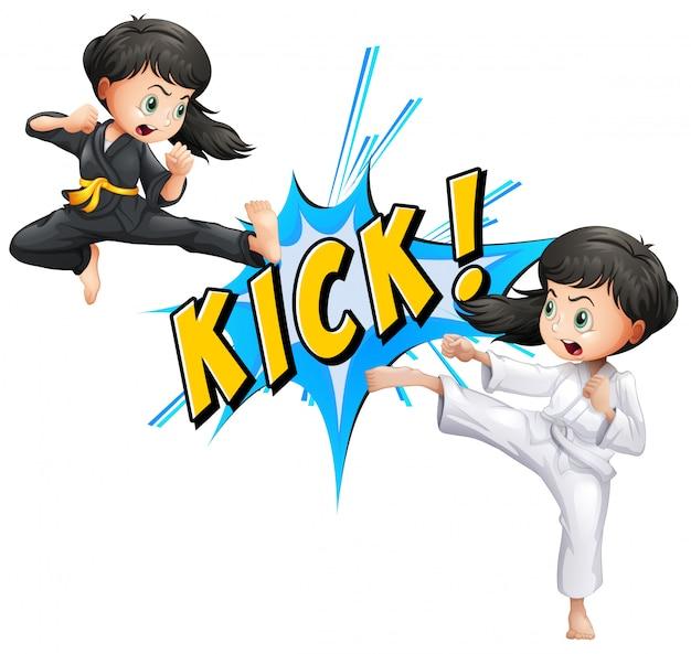 Kick flash