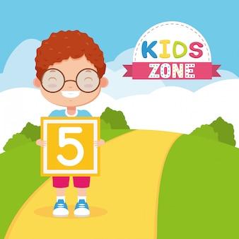 Kids zone hintergrund
