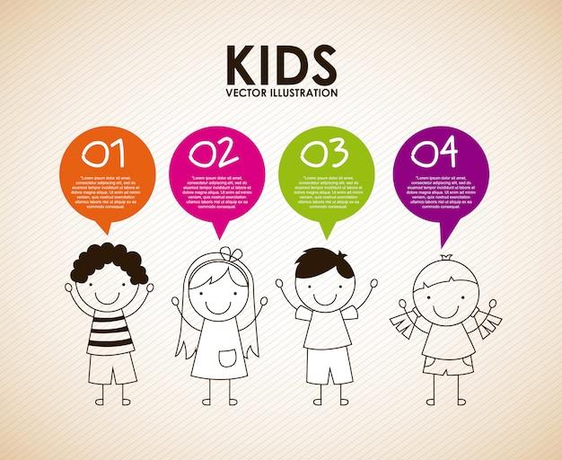 Kinder entwerfen