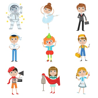 Kinder future profession collection