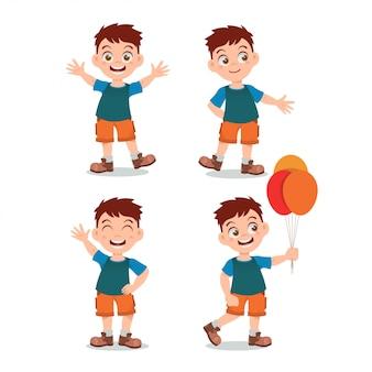 Kinder illustration aktivität