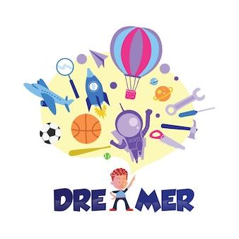 Kinder-illustration-design