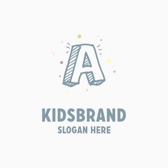 Kinder logo hintergrund