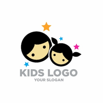 Kinder logo stock illustration