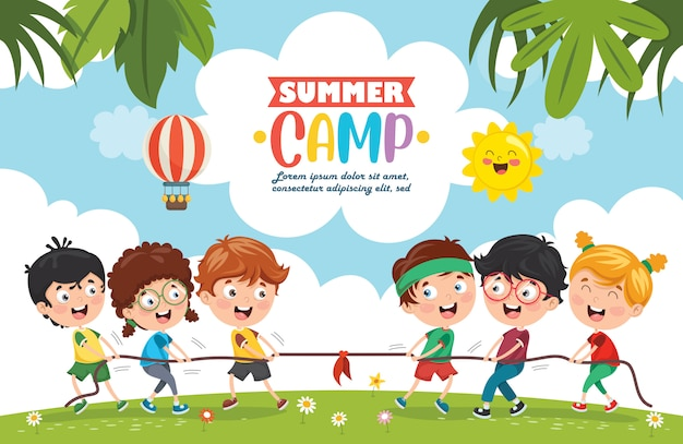 Kinder sommercamp