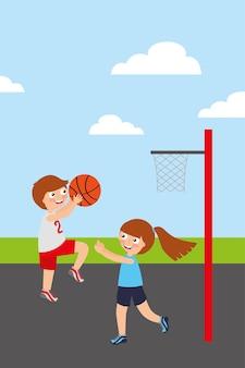 Kinder sport aktivität bild