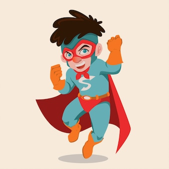 Kinder-superhelden-abbildung