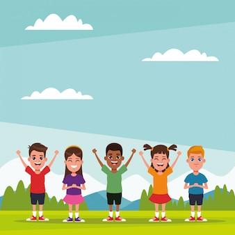 Kinderfreunde cartoons