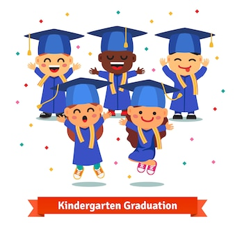 Kindergarten-abschlussfeier