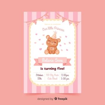 Kindergeburtstag einladungsvorlage