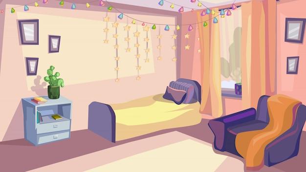 Kinderschlafzimmer-innenkinderzimmer-modernes design