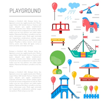 Kinderspielplatz kindergarten