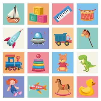 Kinderspielzeug-set