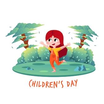 Kindertag charakter