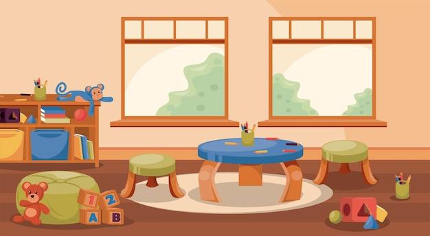 Kinderzimmer klassenzimmerszene