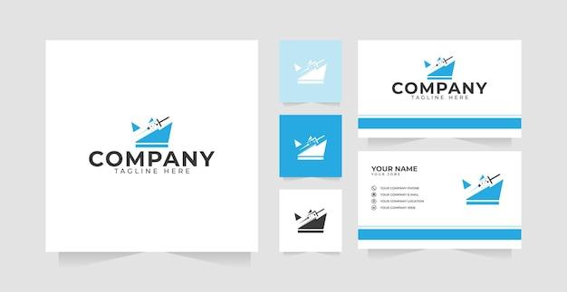 King cleaner logo design inspiration und visitenkarte