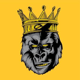 King kong gesicht