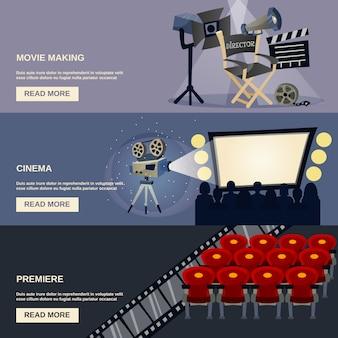 Kino-banner-set