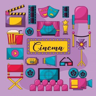Kino film abbildung