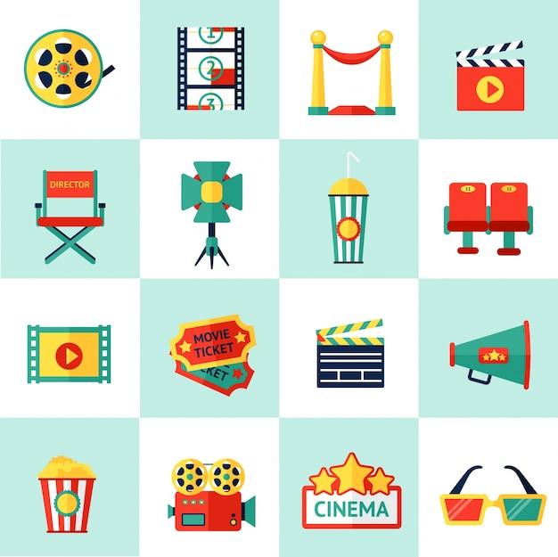 Kino icon set