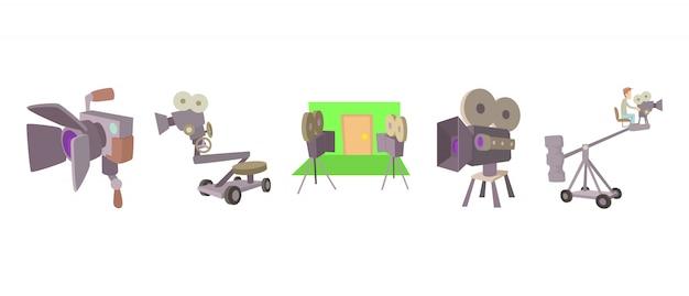 Kino-kamera-icon-set
