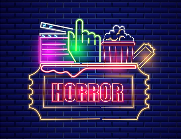 Kino neon-symbol