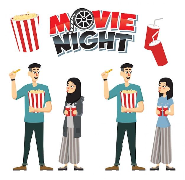 Kino-paar-set
