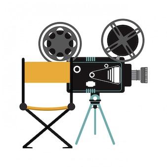 Kino- und filmkonzept