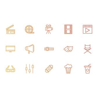 Kino- und medien-ikonen