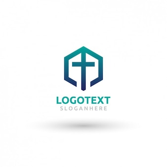 Kirche logo-vorlage