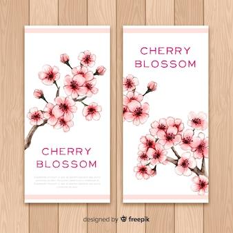 Kirschblüten-banner