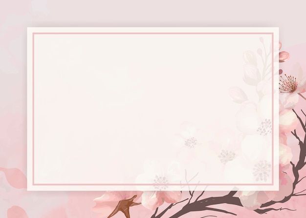 Kirschblüten-hintergrundrahmen
