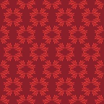 Kirschdekorativer strudel-hintergrund mit kastanienbraun