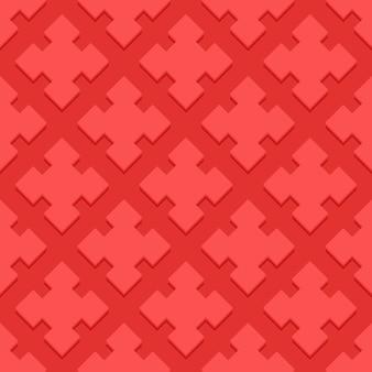 Kirschdekorativer strudel-hintergrund mit pampelmuse-puzzle