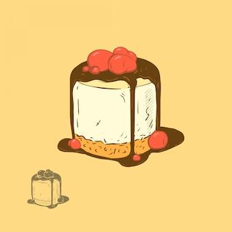 Kirschkäsekuchen
