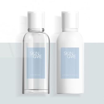 Klare kosmetik hautpflege haarpflege gesundheitswesen beauty medical boston flasche