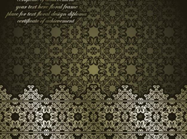 Klassische antike kunst hintergrund vektor-set