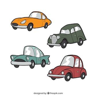 Klassische autosammlung