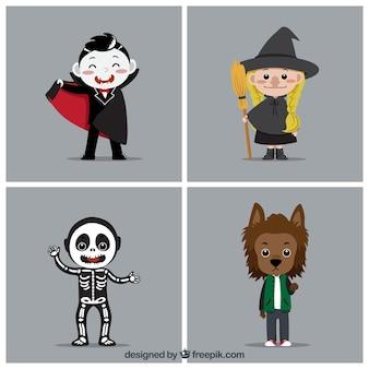 Klassische halloween kostüme
