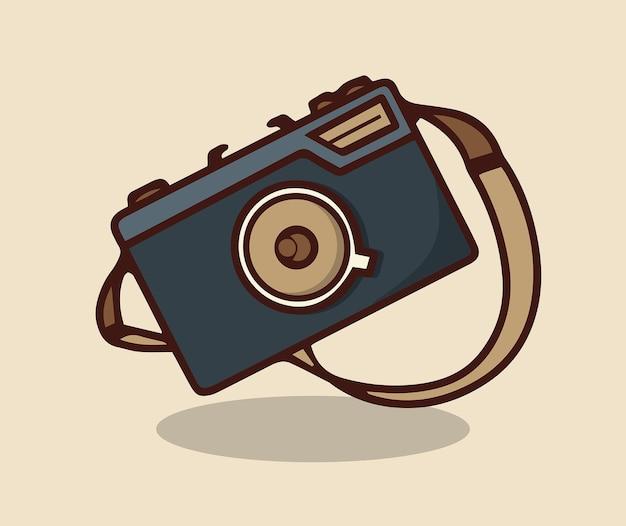Klassische kamera-sommerreise-edition