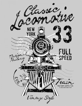 Klassische lokomotive