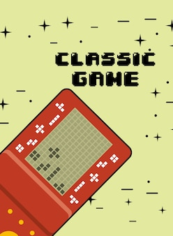 Klassische spielekonsole tragbar