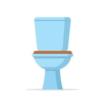Klassische toilettenschüssel ausstattung und zubehör für die toilette wc-einrichtungsdesign