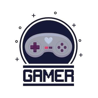 Klassische videospielsteuerung