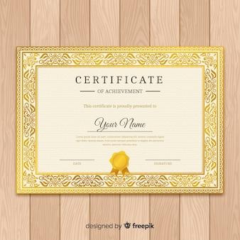 Klassische zertifikatvorlage