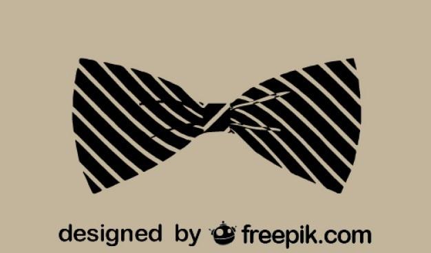 Klassischen vintage-mode bowtie-symbol
